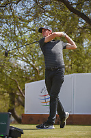 Thomas Pieters (BEL) watches his tee shot on 12 during round 1 of the World Golf Championships, Dell Match Play, Austin Country Club, Austin, Texas. 3/21/2018.<br /> Picture: Golffile | Ken Murray<br /> <br /> <br /> All photo usage must carry mandatory copyright credit (&copy; Golffile | Ken Murray)
