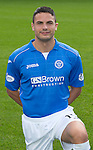 St Johnstone FC 2014-2015 Season Photocall..15.08.14<br /> Gary Miller<br /> Picture by Graeme Hart.<br /> Copyright Perthshire Picture Agency<br /> Tel: 01738 623350  Mobile: 07990 594431