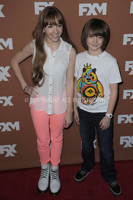 WWW.ACEPIXS.COM . . . . . .March 28, 2013...New York City....Holly Taylor and Keidrich Sellati attend the 2013 FX Upfront Bowling Event at Luxe at Lucky Strike Lanes on March 28, 2013 in New York City ....Please byline: KRISTIN CALLAHAN - ACEPIXS.COM.. . . . . . ..Ace Pictures, Inc: ..tel: (212) 243 8787 or (646) 769 0430..e-mail: info@acepixs.com..web: http://www.acepixs.com .