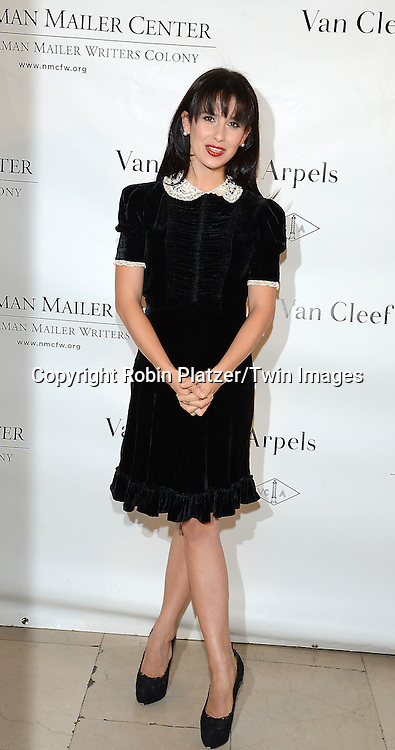 Hilaria Baldwin attends the Norman Mailer Center Sixth Annual Gala on October 27, 2014 at The New York Public Library in New York City.<br /> <br /> photo by Robin Platzer/Twin Images<br />  <br /> phone number 212-935-0770