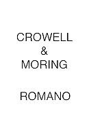 Crowell & Moring ROMANO