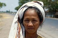Cham-Minderheit bei Phang Rang, Vietnam