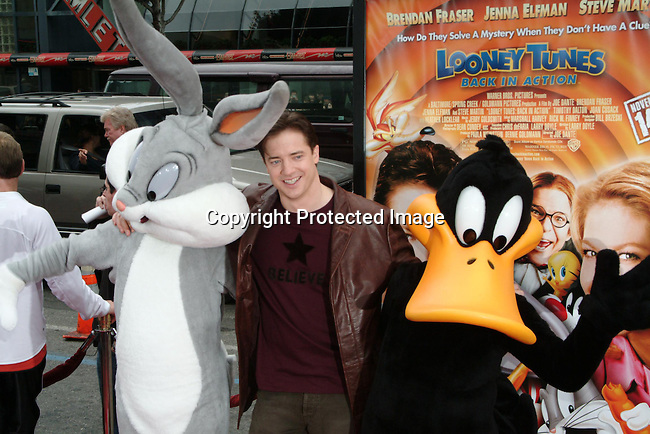 Brendan Fraser<br />&ldquo;Looney Tunes:  Back In Action&rdquo; Film Premiere<br />Grauman's Chinese Theater<br />Hollywood, CA, USA<br />Sunday, November, 09, 2003 <br />Photo By Celebrityvibe.com/Photovibe.com