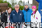 Paudie O'Mahony the star of last years Operation Transformation programme walking with his family in Killarney on Saturday morning l-r: Roisin, Paudie O'Mahony, John Owens and Fiona O'Mahony
