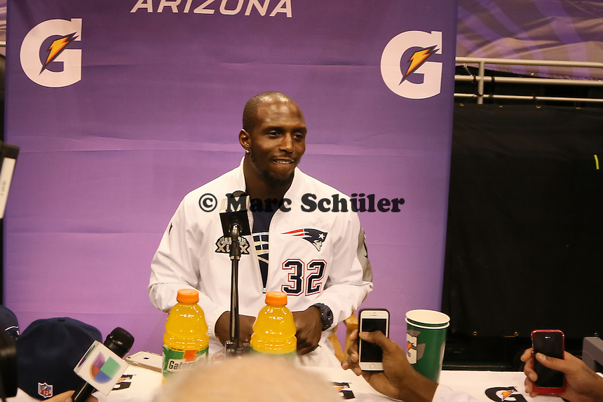 S Devin McCourty (Patriots)  - Super Bowl XLIX Media Day, US Airways Center, Phoenix