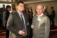 Lewis Quayle of ALEA Casino and Ian Roberts of SLR Consulting