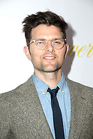 "LOS ANGELES - MAR 13:  Adam Scott at the ""Flower"" Premiere at ArcLight Theater on March 13, 2018 in Los Angeles, CA"