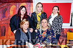 Marie O&rsquo;Mahoney from Rathorig Tralee celebrating her birthday in Ristorante Uno on Thursday night.Seated l to r: Marie O&rsquo;Mahoney and Jamie Lee O&rsquo;Sullivan.<br /> Back l to r: Theresa Dermody, Leah Hamil and Karen O&rsquo;Sullivan.