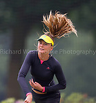 Daniela Hantuchova warms up on the practise courts of the The Boodles, Stoke Park<br /> <br /> The Boodles Tennis Event, Stoke Park Thursday 20th 2013,  Photo: Richard Washbrooke Photography