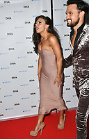 Faye Brookes, Gareth Gates at the DIVA Magazine Awards - Lesbian and bisexual magazine hosts annual awards ceremony at Waldorf Hilton, London, 8th June 2018, England, UK.<br /> CAP/JOR<br /> &copy;JOR/Capital Pictures