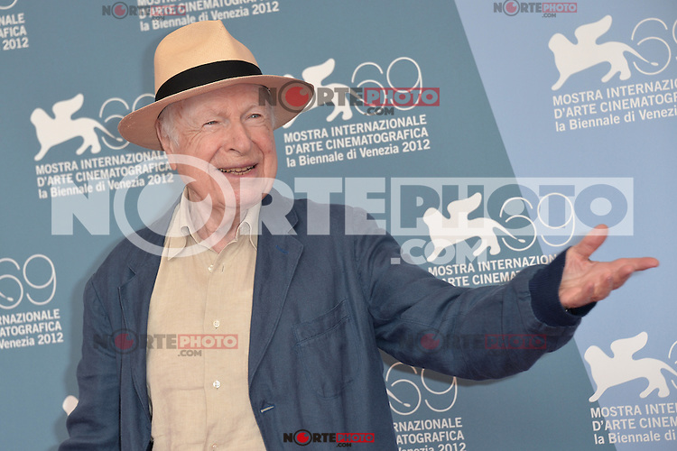 VENICE, ITALY - SEPTEMBER 05: Peter Brook at 'The Tightrope' Photocall during the 69th Venice Film Festival at the Palazzo del Casino on September 5, 2012 in Venice, Italy. &copy;&nbsp;Maria Laura Antonelli/AGF/MediaPunch Inc. ***NO ITALY*** /NortePhoto.com<br /> <br /> **CREDITO*OBLIGATORIO** *No*Venta*A*Terceros*<br /> *No*Sale*So*third* ***No*Se*Permite*Hacer Archivo***No*Sale*So*third