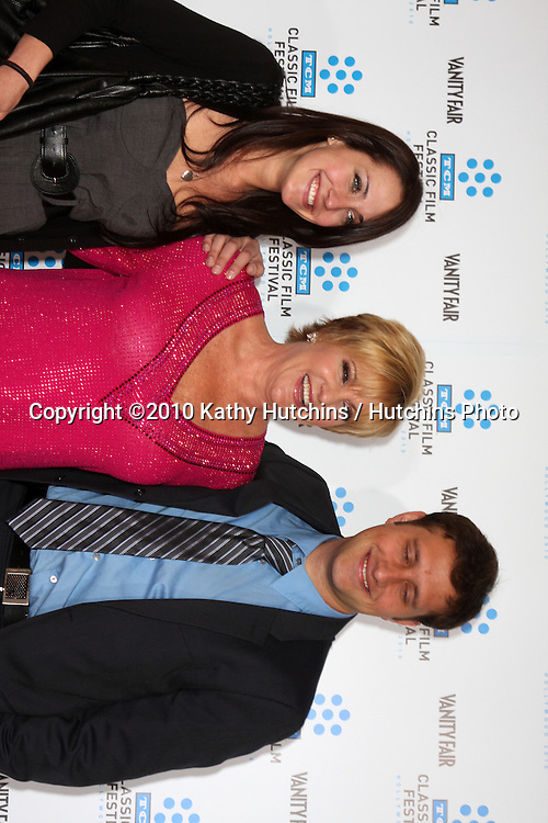 ".Lorna Luft & Her chilldren.arrives at the ""A Star is Born"" Restored Print World Premiere , part of the Turner Classic Movie Channel Classic Movie Festival.Grauman'S Chinese.Los Angeles, CA.April 22, 2010.©2010 Kathy Hutchins / Hutchins Photo..."