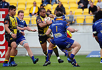 Julian Savea in action during the Mitre 10 Cup rugby match between Wellington Lions and Otago at Westpac Stadium in Wellington, New Zealand on Sunday, 1 October 2017. Photo: Dave Lintott / lintottphoto.co.nz