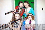 Musicians who took part in the singing club night on Friday in Finuge were Emer Lynch, Ann Prendiville, Orla and Theresa Keane, From Ballymacelligott..