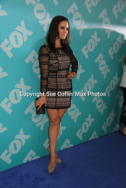 Melissa Fumero - Brooklyn Nine-Nine at the 2013 Fox Upfront Post Party on May 13, 2013 at Wolman Rink, Central Park, New York City, New York. (Photo by Sue Coflin/Max Photos)