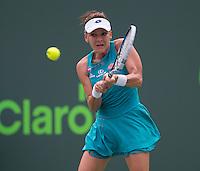 AGNIESZKA RADWANSKA (POL)<br /> <br /> Tennis - MIAMI OPEN 2015 - ATP 1000 - WTA Premier -  Crandon park Tennis Centre  - Miami - United States of America - 2015<br /> &copy; AMN IMAGES