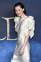 LONDON, UK. November 13, 2018: Poppy Corby-Tuech at the &quot;Fantastic Beasts: The Crimes of Grindelwald&quot; premiere, Leicester Square, London.<br /> Picture: Steve Vas/Featureflash