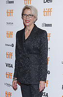 """TORONTO, ONTARIO - SEPTEMBER 08: Annette Bening attends """"The Report"""" premiere during the 2019 Toronto International Film Festival at Winter Garden Theatre on September 08, 2019 in Toronto, Canada. Photo: <br /> CAP/MPI/IS/PICJER<br /> ©PICJER/IS/MPI/Capital Pictures"""