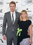 Dax Shepard and Kristen Bell<br />  attends 2015 Film Independent Spirit Awards held at Santa Monica Beach in Santa Monica, California on February 21,2015                                                                               &copy; 2015Hollywood Press Agency