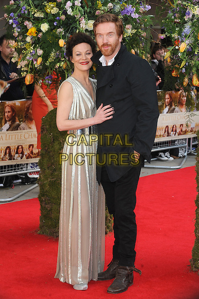 LONDON, ENGLAND - APRIL 13: Helen McCrory and Damian Lewis attend the UK Premiere of A Little Chaos at Kensington Odeon on April 13, 2015 in London, England.<br /> CAP/BEL<br /> &copy;BEL/Capital Pictures