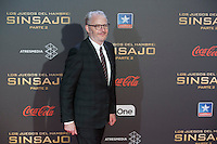 Director Francis Lawrence poses for the photographers during the photocall of `The Hunger Games: Mockingjay Part 2´ movie presentation in Madrid, Spain. November 10, 2015. (ALTERPHOTOS/Victor Blanco)