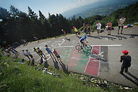Ramunas Navardauskas (LIT)<br /> <br /> Tour de France 2013<br /> stage 20: Annecy to Annecy-Semnoz<br /> 125km