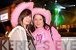 Elma Roche (Brosna) and Katie Curtin (Tournafulla) at Jedward on Friday night.