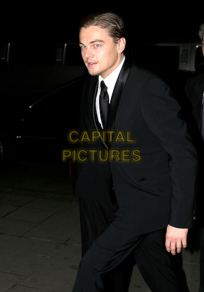 LEONARDO DiCAPRIO.Official BAFTA Aftershow Dinner Party, .Grosvenor House, Park lane, London, .February 12th 2005..half length leo di caprio.Ref: AH.www.capitalpictures.com.sales@capitalpictures.com.©Capital Pictures.