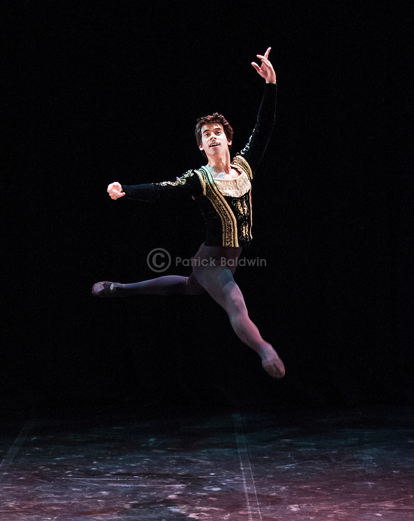 English National Ballet. Emerging Dancer competition 2013. Queen Elizabeth Hall. Guilherme Menezes.