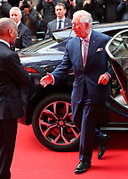 11/03/2020 - Prince Charles and and Lord Lieutenant of London Kenneth Ken Olisa at The Princes Trust Awards 2020 At The London Palladium. Photo Credit: ALPR/AdMedia