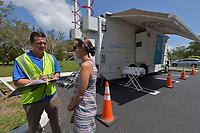 2017 FPL Hurricane Irma restoration in Pine Crest, Fla. on September 15, 2017.