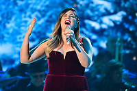 25 September 2019 - Nashville, Tennessee - Hillary Scott, Lady Antebellum. 2019 CMA Country Christmas held at the Curb Event Center. Photo Credit: Dara-Michelle Farr/AdMedia