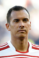Blas PerezFC Dallas forward... Sporting KC defeated FC Dallas 2-1 at LIVESTRONG Sporting Park, Kansas City, Kansas.