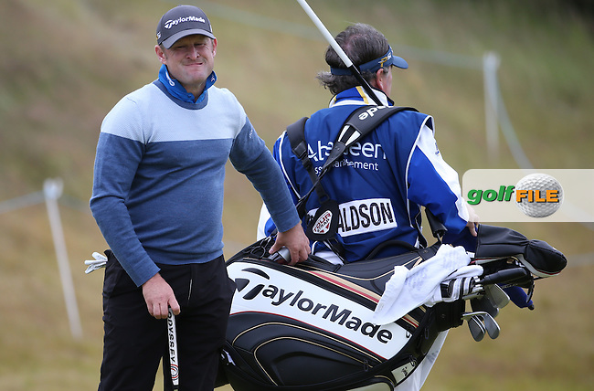 Jamie Donaldson (WAL) during Round One of the 2016 Aberdeen Asset Management Scottish Open, played at Castle Stuart Golf Club, Inverness, Scotland. 07/07/2016. Picture: David Lloyd | Golffile.<br /> <br /> All photos usage must carry mandatory copyright credit (&copy; Golffile | David Lloyd)