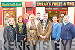 Pictured at the opening of the new Dan Horan Health, Fruit & Veg Shop in the Horan Centre, Clash, Tralee on Thursday last were l-r: Tess Breen, Noreen Irwin, Kate Burke, Sandra Breen, Mark Daly, Dan Horan, Mike Leahy and Anthony Clifford.   Copyright Kerry's Eye 2008