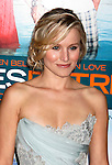 """WESTWOOD, CA. - October 05: Kristen Bell arrives at the Los Angeles premiere of """"Couples Retreat"""" at the Mann's Village Theatre on October 5, 2009 in Westwood, Los Angeles, California."""