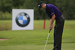 Ross Fisher (ENG) takes his putt on the par3 17th green during Day 1 of the BMW International Open at Golf Club Munchen Eichenried, Germany, 23rd June 2011 (Photo Eoin Clarke/www.golffile.ie)