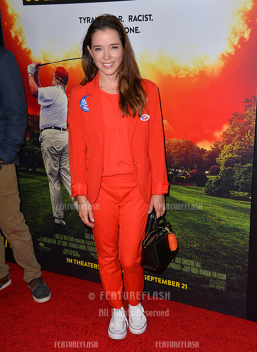 LOS ANGELES, CA. September 19, 2018: Iana Turner at the Los Angeles premiere for Michael Moore's &quot;Fahrenheit 11/9&quot; at the Samuel Goldwyn Theatre.<br /> Picture: Paul Smith/Featureflash