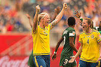 Sweden vs Nigeria, June 8, 2015