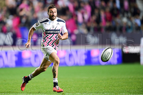 29.05.2015. Paris, France. Top 14 rugby playoff. Stade Francais versus Racing Metro.  Jeremy Sinzelle (Stade Francais)