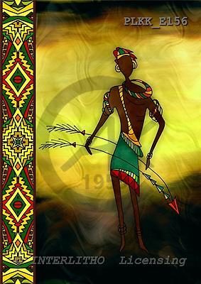 Kris, MODERN, ethnical, paintings, PLKKE156,#n#