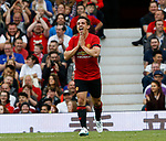 Gary Neville reacts after missing a chance to score during the Michael Carrick Testimonial match at the Old Trafford Stadium, Manchester. Picture date: June 4th 2017. Picture credit should read: Simon Bellis/Sportimage