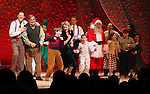 John Bolton, Dan Lauria, Johnny Rabe, Erin Dilly, Zac Ballard & Company during the Broadway Opening Night Performance Curtain Call for 'A Christmas Story - The Musical'  at the Lunt Fontanne Theatre in New York City on 11/19/2012.