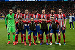 Atletico de Madrid's team photo during UEFA Champions League match, Round of 16, 1st leg between Atletico de Madrid and Juventus at Wanda Metropolitano Stadium in Madrid, Spain. February 20, 2019. (ALTERPHOTOS/A. Perez Meca)