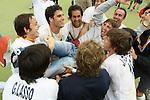 Hochey, Copa del Rei El Club de Campo es proclama campio de la copa del rei despres de guanyar 3-1 l'Athletic Egara