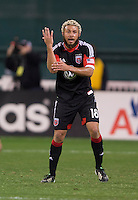 Nick DeLeon.  D.C. United defeated Real Salt Lake, 1-0, at RFK Stadium.