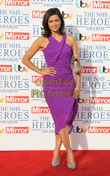 Lucy Verasamy at the NHS Heroes Awards 2018, London Hilton on Park Lane Hotel, Park Lane, London, England, UK, on Monday 14 May 2018.<br /> CAP/CAN<br /> &copy;CAN/Capital Pictures