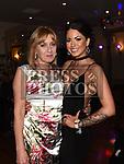 Niamh Larkin celebrating her 21st birthday with mam Geraldine. Photo:Colin Bell/pressphotos.ie
