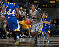 Brittany Shine of California in action during the game against Bakersfield at Haas Pavilion in Berkeley, California on December 15th, 2013.  California defeated Bakersfield Roadrunners, 70-51.