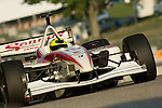 10 August 2007: Bruno Junqueira (BRA) at the Champ Car Generac Grand Prix at Road America, Elkahart Lake, WI.